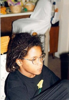 Me, at age 10- with a messy 'do