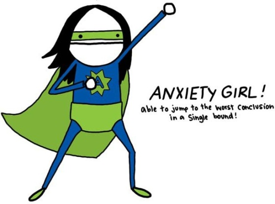Anxiety girl (this is me)!